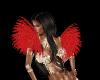 MardiGras Red Shoulder