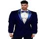Royal silver Suit