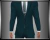 Teal Suit SkinnyTie