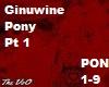 Ginuwine Pony