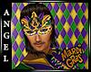 ANG~Mardi Gras Mask [M]