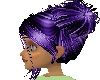 Sky Purple POM POM HAIR