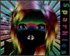 *S Neon Rainbow Hair