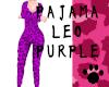 Pajama Leo Purple