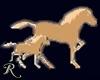 Animated Running Horses