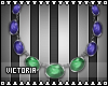 Misa Necklace [PurpGren]