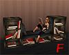 F - Bookshelve Sofa