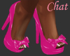c]My Pink bow Pumps