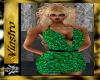 (V)Emerald Club Dress