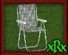 Metal Lawn Chair Grey