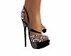 Black & Pearl Heels