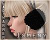 [Is] Fur Ear Warmer Blac