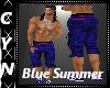 Blue Summer Pants