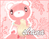 *SH* kawaii pink bear