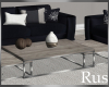 Rus Navy Livingroom Set