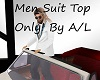 A/L Mens Top Suit  ONLY