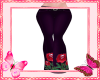 Red Rose Pants