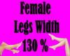 Leg Scaler 130 %