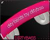 !B Pink Headphones F