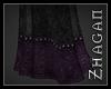 [Z] Rey Skirt purple