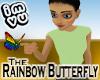 Greeter Rainbow Butterfly