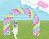 .C Cheerful Balloon Arch