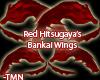 Red Hitsugaya Wings