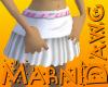 SIC White Skirt