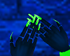 FG~ Neon Green Nails
