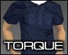 Torque Pocket Polo-Navy
