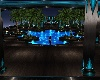 electric blue pool