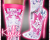Neon Geisha Boots