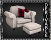 Christmas Armchair/Stool