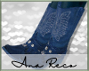 A Blue Cowboy Boots