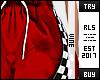 ♔ Red Racer Sweat RLS
