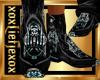 [L] BADASS FU Boots M