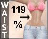 Waist Scaler 119% F A