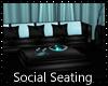 Aqua Social Seating