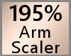 195% Arm Scaler F A