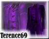 69 Formal Vest - Purple