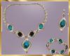 C12 Blue Jewelry Set