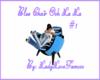 Blue Chair Ooh La La #1