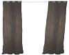 Country Brown Curtains
