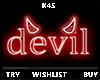 ○ Devil | Neon