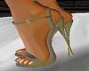 "Grey Matching 5"" Heels"