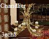 Gold Antler Chandlier