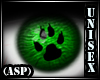 (ASP) Furry lenses Green