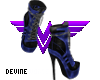 Harley Boots Blue
