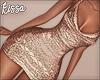 ! Tan Sparkly Dress