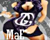 *MaE*purple Gucci dress
